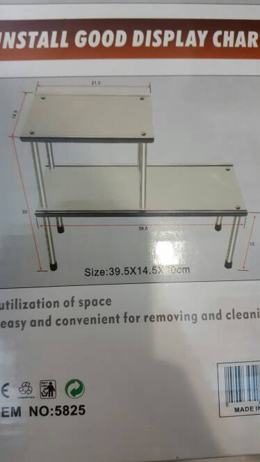 Rak Multifungsi Multifunctional Rack 39.5 X 14.5 X 30 cm