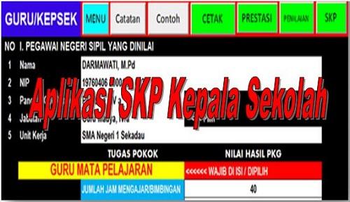 Aplikasi SKP Kepala Sekolah