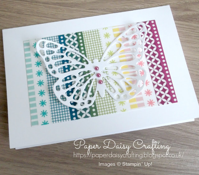 Butterflies thinlits dies from Stampin' Up!