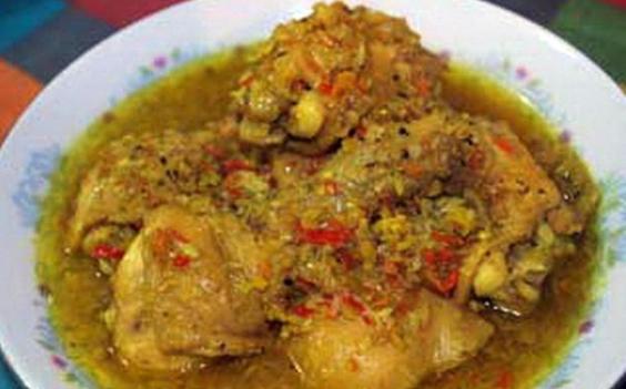 Resep Ayam Betutu Basah