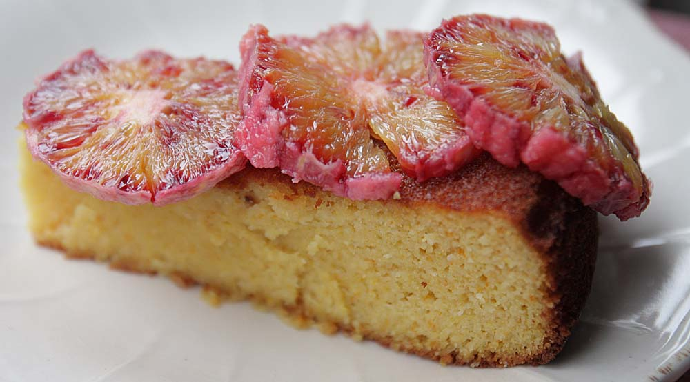 ... Seasonal Veg Table: Sicilian Blood Orange Almond Cake (Gluten Free