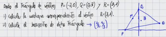 36. Cálculo del baricentro (fórmula)
