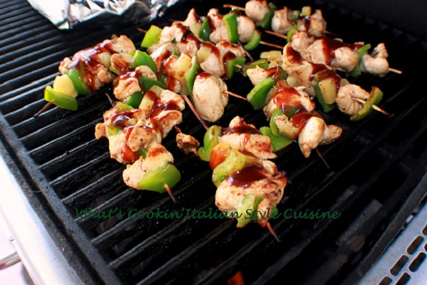 how to make chicken kabobs on the grill with jack daniels