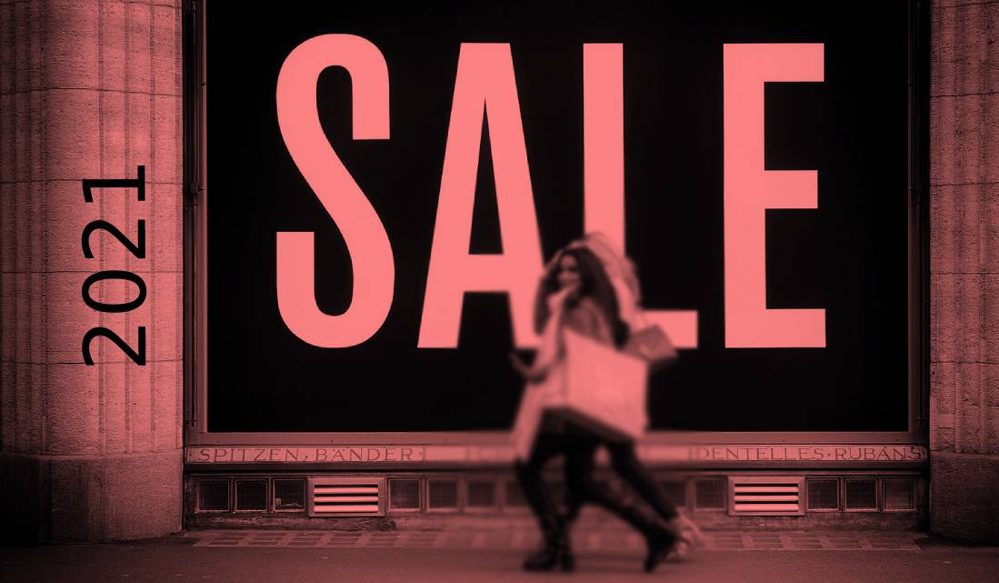 fashion sales continue to high