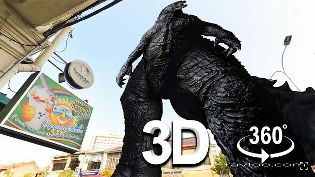 Dato Keramat Heritage Shophouse Godzilla Version Raymond Loo 019-4107321