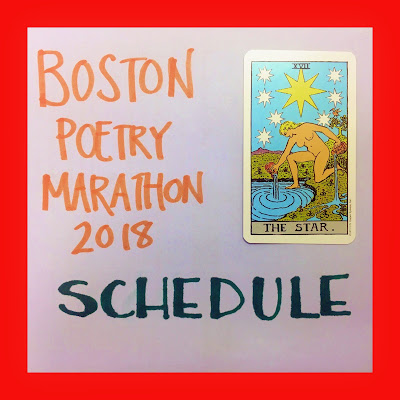 bridget eileen in the boston poetry marathon as a reader and an organizer of the three day long poetry festival