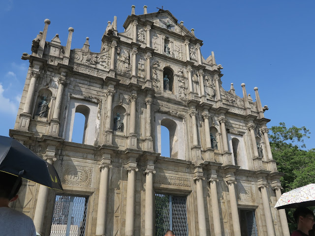 Macau: Ruins of St Paul