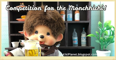 kiki monchhichi story café pub baby foot cute kawaii barman