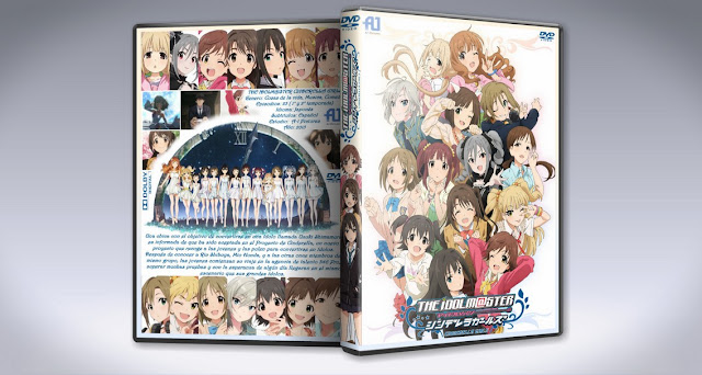 The Idolmster Cinderella Girls   Cover DVD  