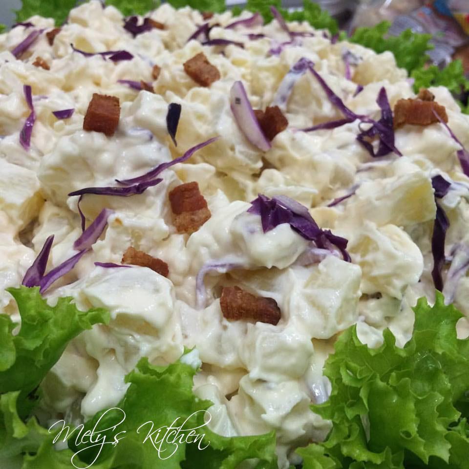 Potato Salad With Crispy Bacon Recipe