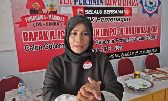 Pentolan PAN Jadi Ketua Tim Perempuan Menangkan IYL-Cakka di Luwu Utara