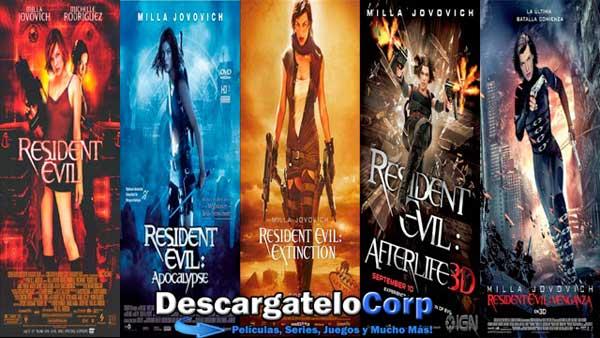 Resident Evil Saga HD 1080p Español Latino