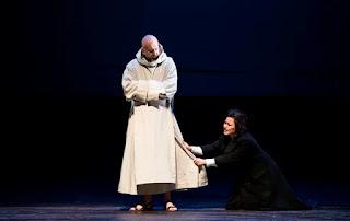 Verdi: La forza del destino - Rafal Siwek, Elena Stikhina - Opera National de Paris (Photo Julien Benhamou / OnP)