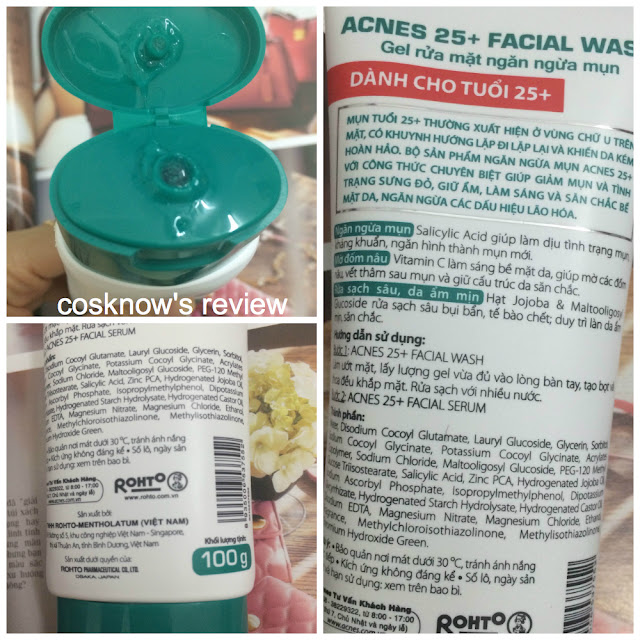 Review Acnes 25+ Facial bộ sản phẩm trị mụn giá rẻ cho người lớn, acnes facial, acnes 25+, kem trị mụn acnes, kem tri mun acne, acne facial wash, acne facial serum