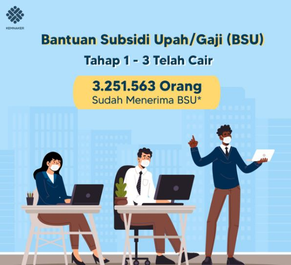 78.852 Pekerja di Sumut Sudah Terima BSU 2021