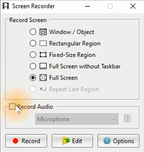 برنامج تصوير الشاشة فيديو للكمبيوتر خفيف