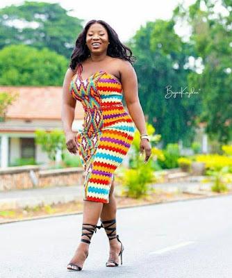 Kente styles for ladies