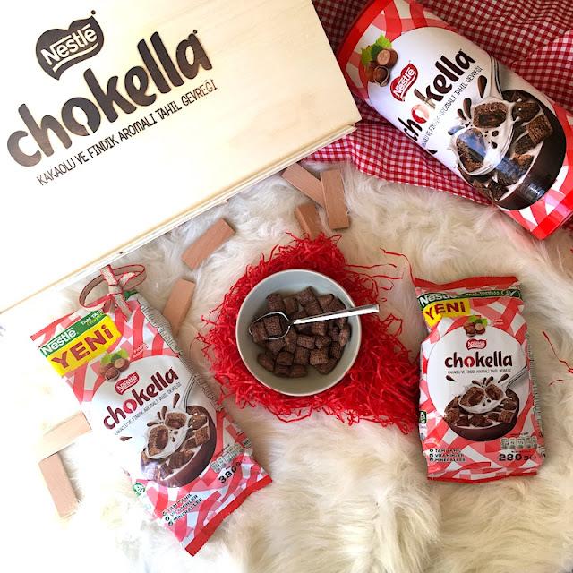 nestle chokella kakaolu ve fındık aramalı tahıl gevreği 1