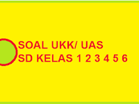 Soal UAS Genap / UKK Kelas 1, 2, 3, 4, 5 SD Terbaru