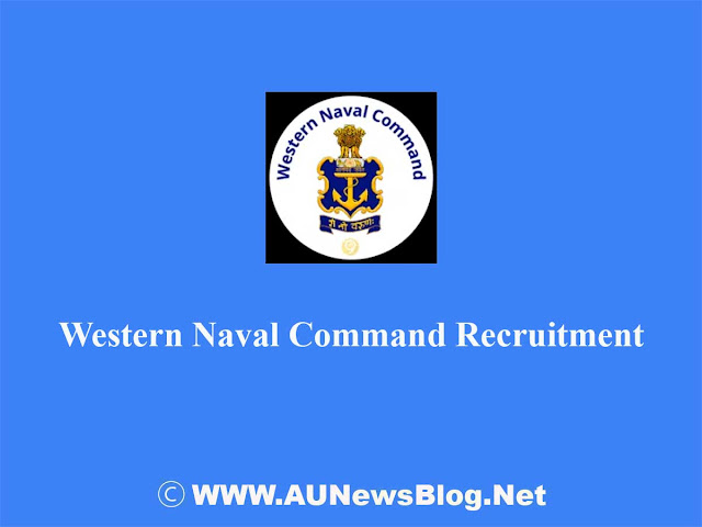 Western Naval Command Recruitment 2018 - 99 Vacancies