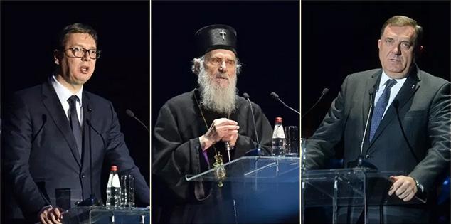 #Vučić #Patrijarh #Dodik #Sabor #SPC #Kosovo #Metohija #Srbija