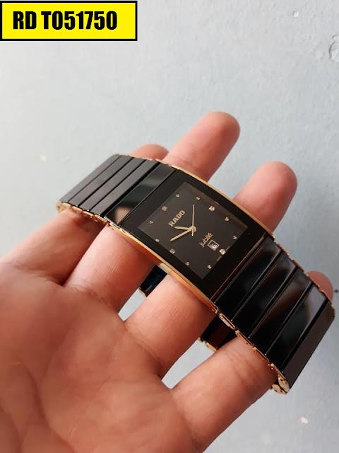 Đồng hồ nam mặt chữ nhật Rado RD T051750