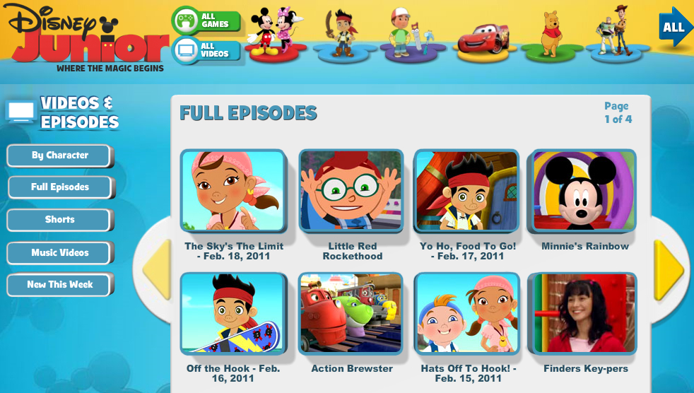 Free Download Program Welcome To Disney Junior Games