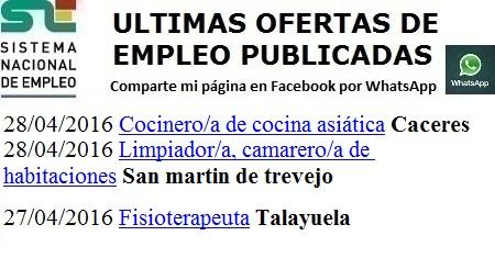 Cáceres, San Martín de Trevejo, Talayuela. Lanzadera de Empleo Virtual