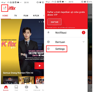Cara Mengubah Ukuran Subtitle Di Aplikasi Iflix Android