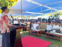<b> Gubernur NTB dan Walikota Bima Hadiri Acara Puncak Pekan Maulid Nabi Muhammad SAW di Ponpes Al-Ikhwan Salama</b>