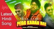 Pegg Kahan Hai Lyrics Font - Hindustani Bhau | Guru Kohli