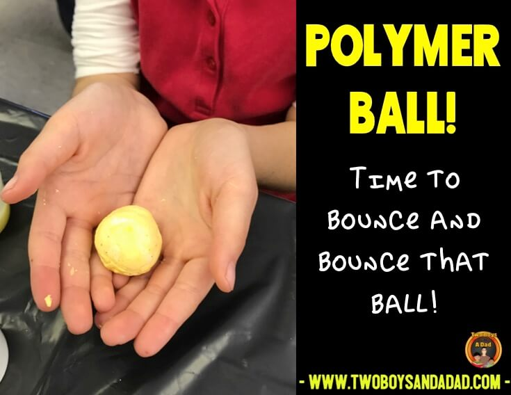 Final product is a polymer ball