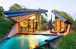 Casa moderna en vegetación autoctona arquitectura moderna