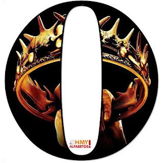 Abecedario de Juego de Tronos. Game of Thrones Alphabet.