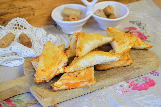 las delicias de Mayte, empanadillas, empanadillas de pan de molde, empanada de pan de molde y atun, empanadillas de pan de molde al horno, empanada de pan de molde,