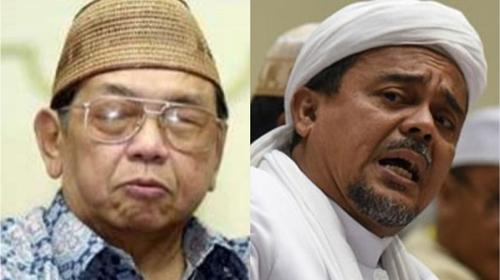 Serang Kadrun, Netizen: Gus Dur Direndahkan Rizieq Shihab Kalian Diam