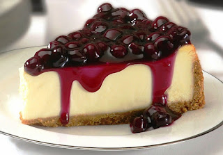 Kue Blueberry Cheese Cake