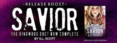 Savior by SL Scott Release Boost