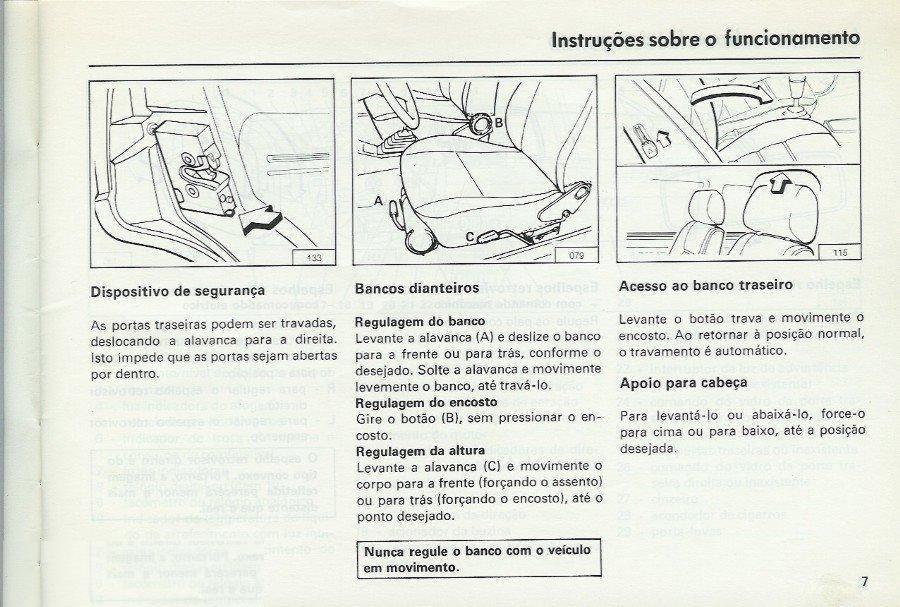 MANUAIS DO PROPRIETÁRIO GRÁTIS: MANUAL DO VW SANTANA E