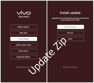 Kumpulan Firmware-Update ZIp/Flash Via Ota VIVO 2020
