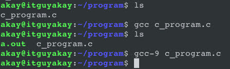 C Programming With GCC On BASH