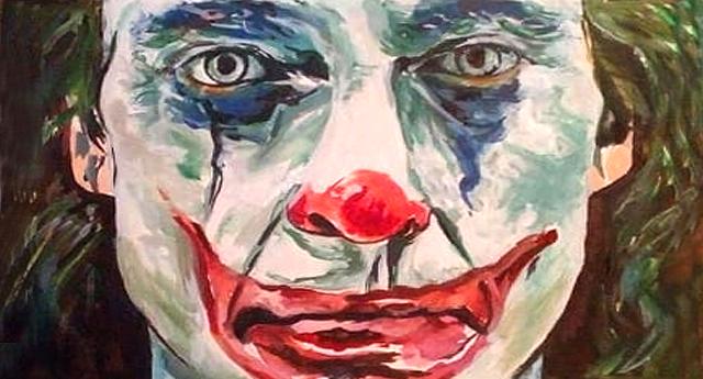 Joker dibujado por Aureliano Maldonado