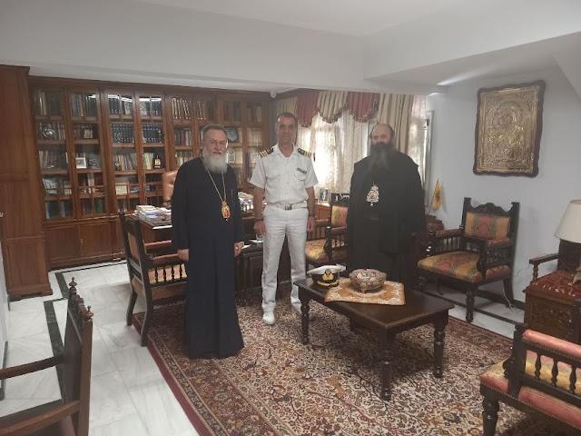 Ανέλαβε καθήκοντα ο νέος Λιμενάρχης Κορίνθου - Επίσκεψη στον Μητροπολίτη