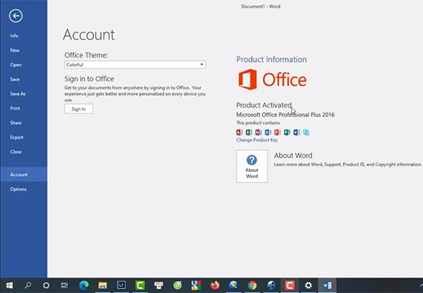 Tải Word 2016 - Phần mềm chỉnh sửa, soạn thảo văn bản trên máy tính d