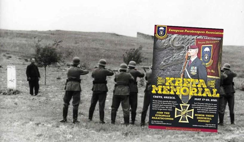 Τιμούν τους ναζί που αιματοκύλησαν την Κρήτη το 1941!