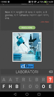 Lettere Nascoste soluzione livello 18 sottolivelli 3-5 | Parola e foto