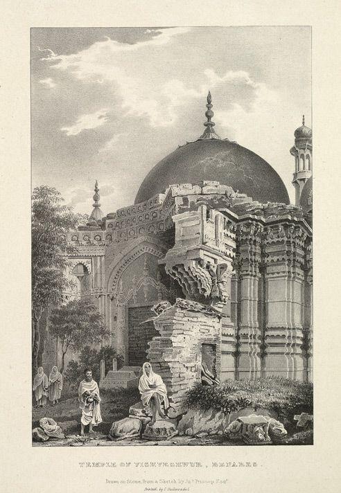 Gyan Vapi Mosque built over Kashi Vishwanath temple