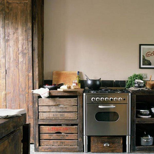 10 Unique Small Kitchen Design Ideas: Moois En Liefs: Keukens Uit Hergebruikte Materialen