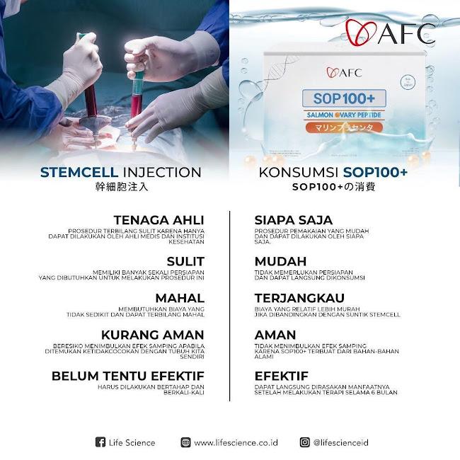 AFC SOP 100+: Cara Terapi Plasenta Ikan Salmon yang Murah dan Halal<br/>.