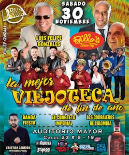 VIEJOTECA para fin de año 2019 en Bogota